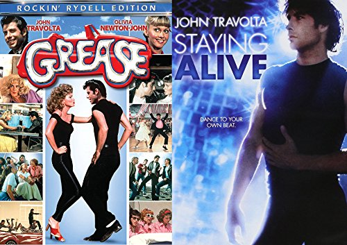 John Travolta Grease Movie Musical & Staying Alive Double Feature Set