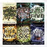 Lorien Legacies Series Pittacus Lore Collection 6 Books Bundle (I Am Number Four, The Power of Six, The Rise of Nine, The Fall of Five, The Revenge of Seven, The Fate of Ten)