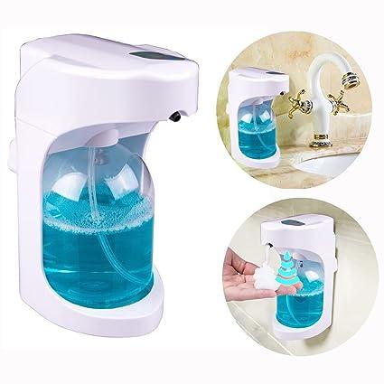Dispensador Jabón de Espuma Automático | Espuma Fina/Higiénico para Niños/Sensor Inteligente/