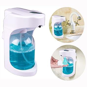 Dispensador Jabón de Espuma Automático | Espuma Fina/Higiénico para Niños/Sensor Inteligente/Calidad Duradera/500ml: Amazon.es: Hogar