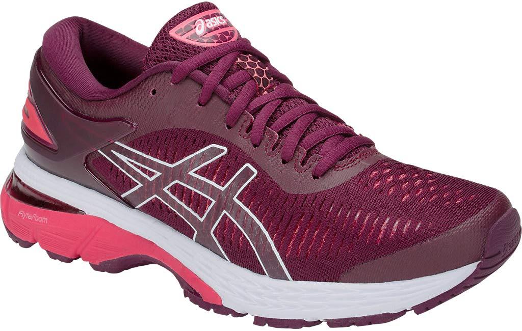 ASICS Gel-Kayano 25 Women's Shoe, Roselle/Pink Camo, 5.5 B US