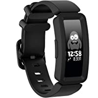 TERSELY Sport Band Strap for Fitbit ACE 2, Soft TPU Silicone Metal Buckle Bands Fitness Sports Bracelet Strap for Fitbit ACE2 Tracker