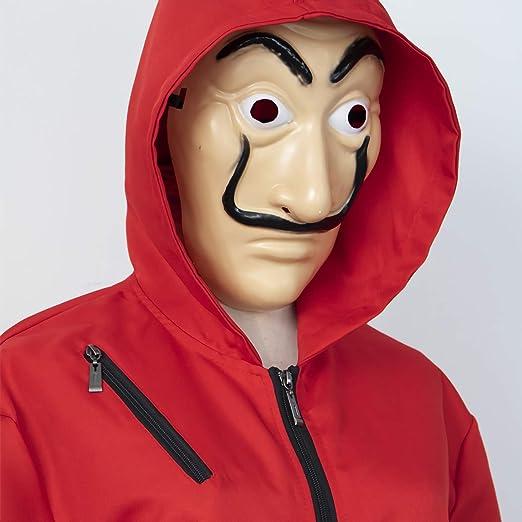 La Casa De Papel Salvador Dali Disfraces Dinero Heist Máscaras ...