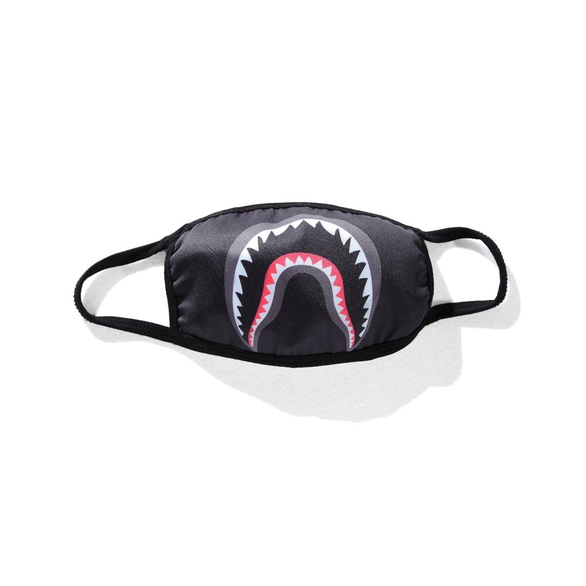 8d0089212331 Amazon.com  Camping First Aid Kits Bape Black Black Shark Face Mask  (black)  Health   Personal Care