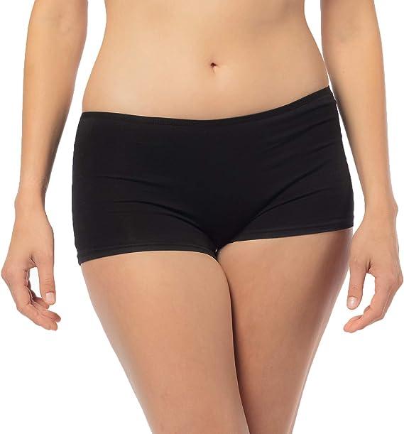 Libella - Culotte de Algodón para Mujer (Paquete de 6) - Bóxer Minishorts - 3901: Amazon.es: Ropa y accesorios