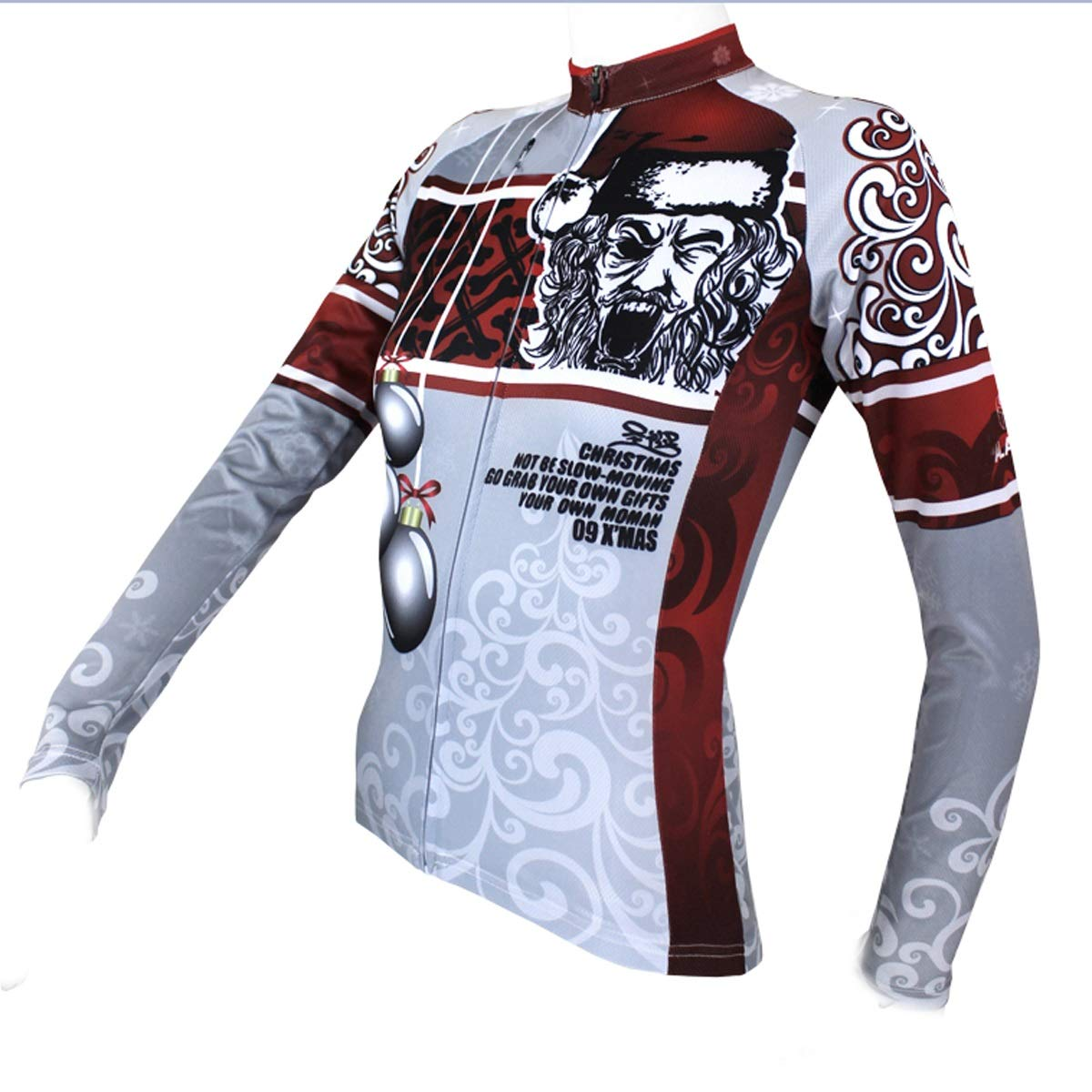 Santa Claus Pattern Riding Sports Herren- und Damenbekleidung Quick Dry Bicycle Riding Suit Fahrradtrikot LPLHJD