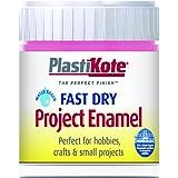 Plastikote B14W 59 ml Enamel Paint Bottle - Hot Pink