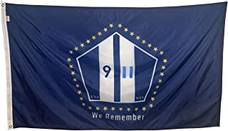 product image for Gettysburg Flag Works 5x8' The Official 9/11 Commemorative Fag Design Constructed Using Heavyweight 200 Denier All-Weather Nylon
