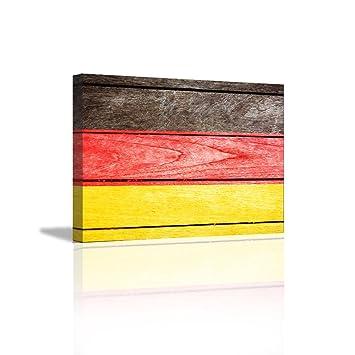 Amazon.com: Wall Decor Rustic Home Decor Canvas Wall Art Germany ...