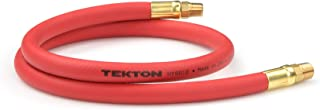 product image for TEKTON 46132 3/8-Inch I.D. by 3-Foot 300 PSI Hybrid Lead-In Air Hose with 1/4-Inch MPT Ends