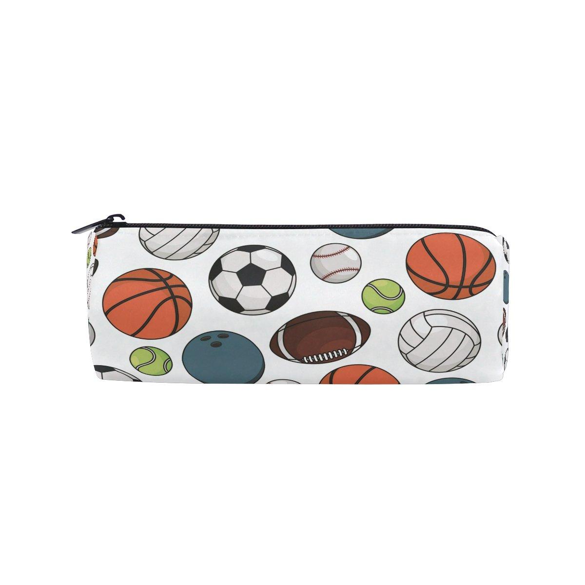 Ahomy - Estuche para lápices de fútbol, baloncesto, béisbol, con ...