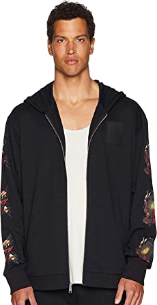 a85e46798e10d PUMA Mens x XO by The Weeknd Full Zip AOP Hoodie