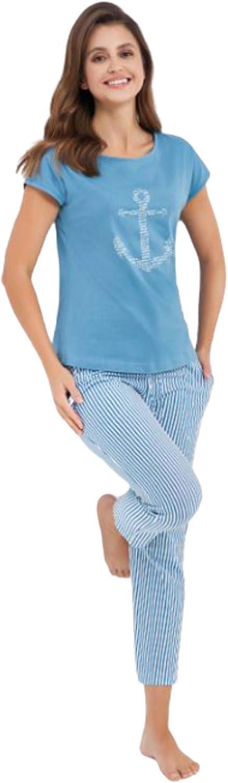 Luna Pijama de noche para verano, corto, pijama corto, pijama ...