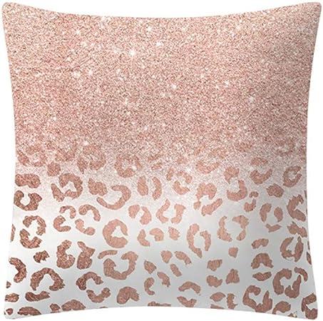 Cuscino Alla Francese Ikea.Npradla Fodera Per Cuscino Quadrato In Oro Rosa Con Federa Seta