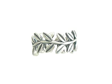 c0ca8961e Image Unavailable. Image not available for. Color: 190922-52 Pandora  Sterling Silver Laurel Wreath Ring ...