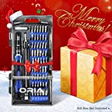 ORIA Screwdriver Set, Magnetic Driver Kit, Professional Repair Tool Kit, 60 in 1 with 56 Bits Precision Screwdriver Kit, Flexible Shaft, for iPhone 8, 8 Plus/ Smartphone/ Game Console/ Tablet/ PC, etc
