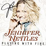 #3: Jennifer Nettles - Playing With Fire - Autographed Signed CD Booklet