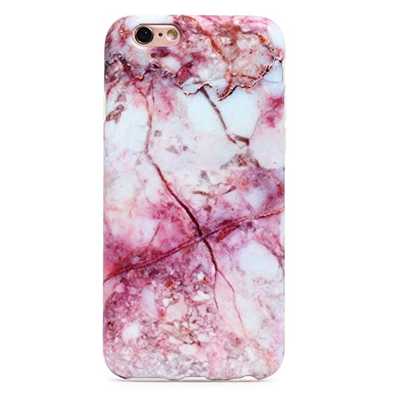 Turbo Delivery LLC - Marble Pattern Hard Rubber Phone for Apple iPhone Xs Includes 1 Screen