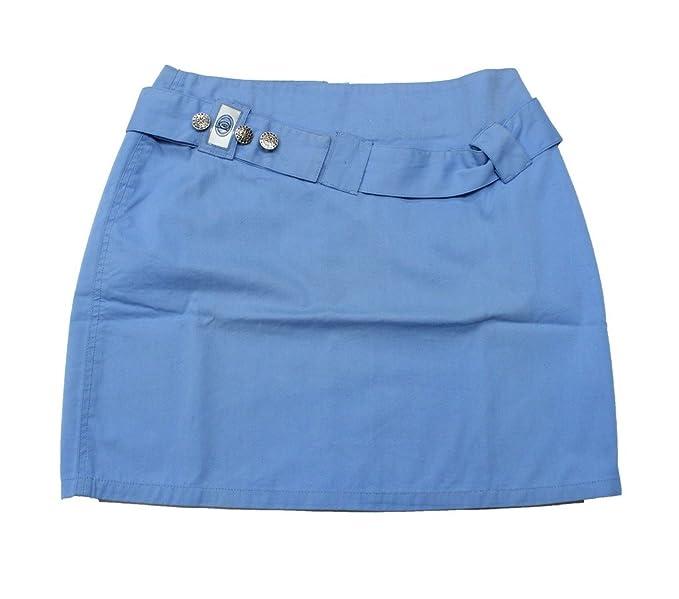 Romano Falda Básico Para Niña Azul Azul 14 15 Años Amazones
