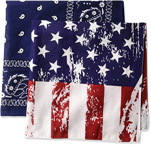 wembley-mens-wembley-distressed-flag-and-paisley-print-bandana-set-multi-one-size