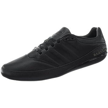adidas Originals PORSCHE DESIGN TYP 64 Black Leather Men Sneakers Schuhe