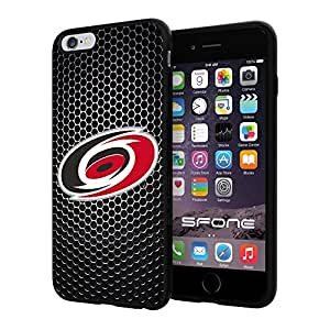 """Carolina Hurricanes Black Iron Net #1564 iPhone 6 Plus (5.5"""") I6+ Case Protection Scratch Proof Soft Case Cover Protector by mcsharks"""