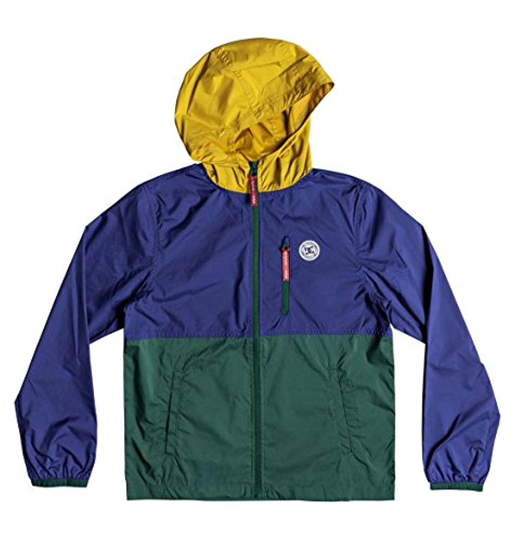 4a7e2dcd50a6 Amazon.com  DC Boys Dagup Triple Block 2 Track Windbreaker Jacket Youth   Clothing
