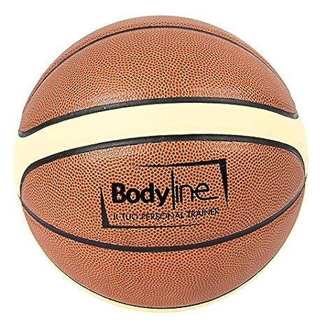 Bodyline Balón Baloncesto PU Laminated Professional tamaño 7 ...