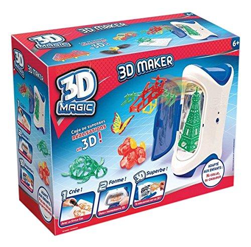 Canal Toys – CT54001 – Loisir Créatif – 3D Maker  – Création et Réalisation 3D – Magic 3D