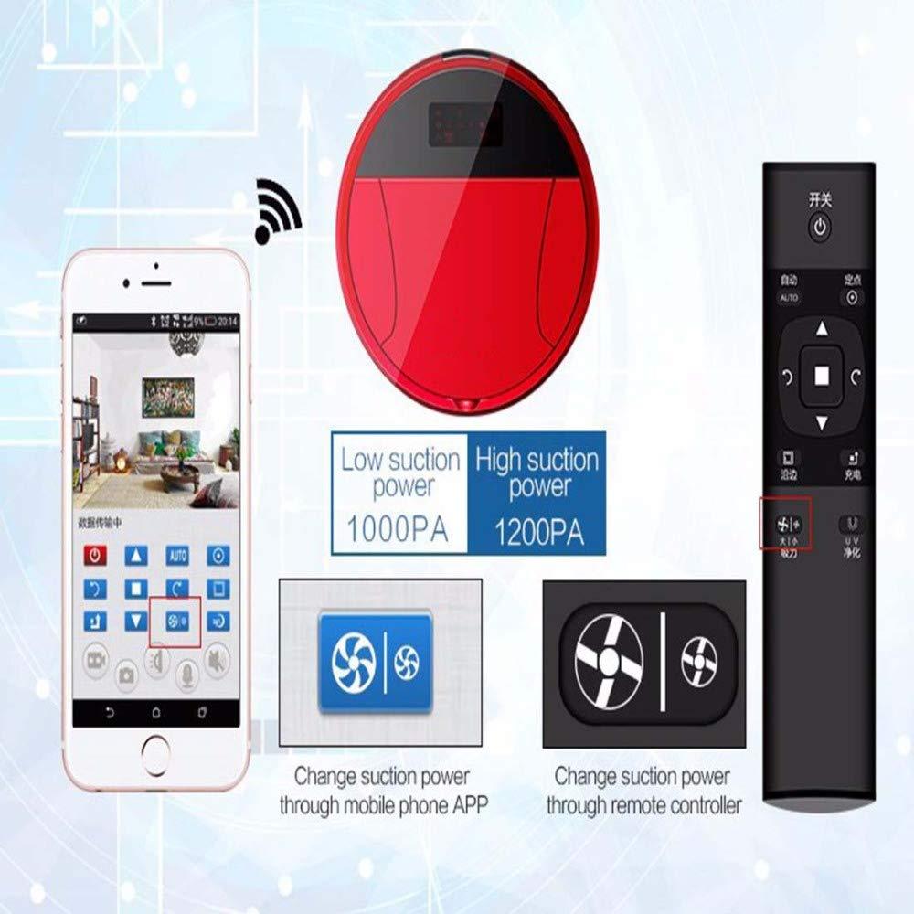 SPFAZJ Limpieza Robot cámara inteligente Control remoto Video vigilancia limpieza automática y máquina de remolque: Amazon.es: Hogar
