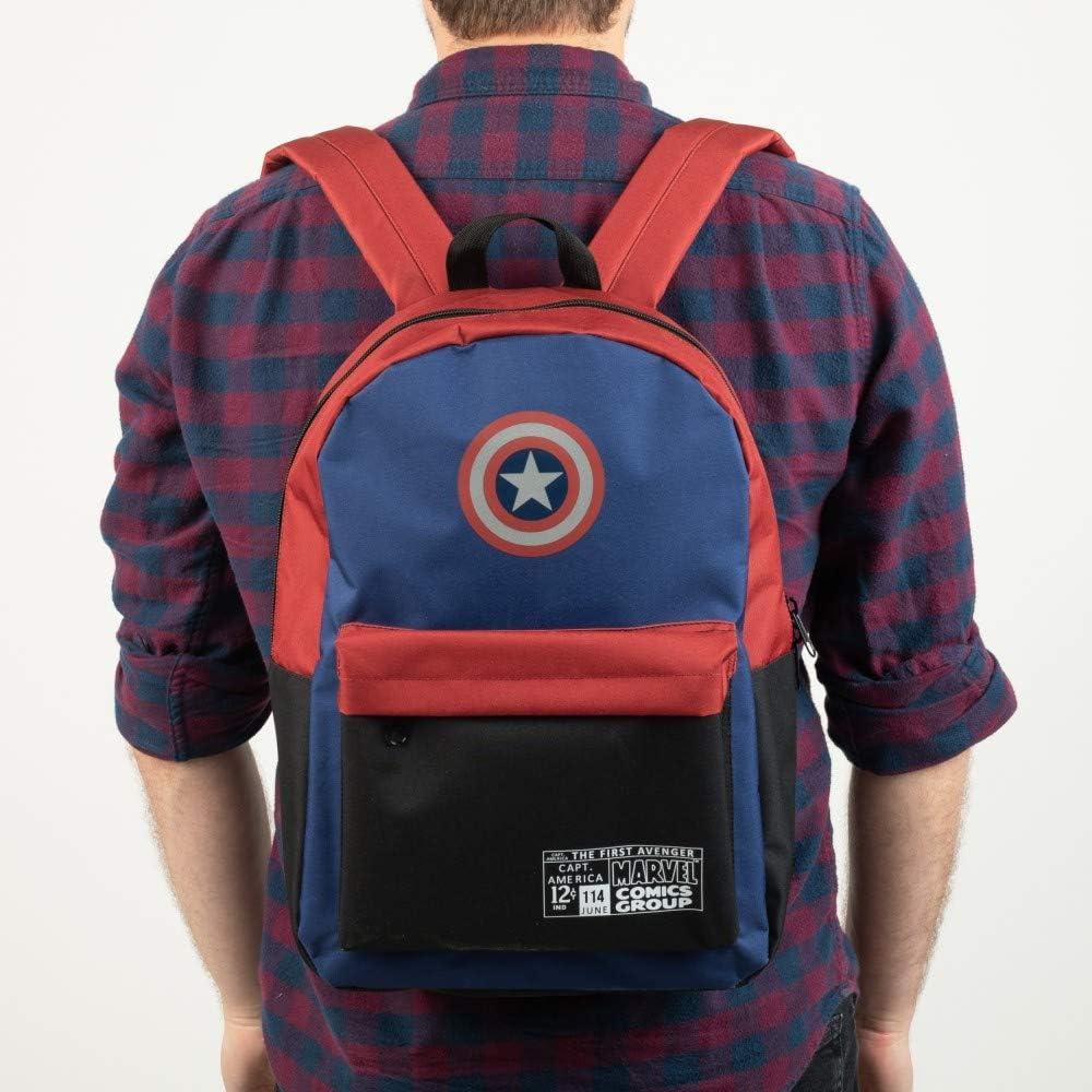 Captain America Backpack Marvel Avengers Gift