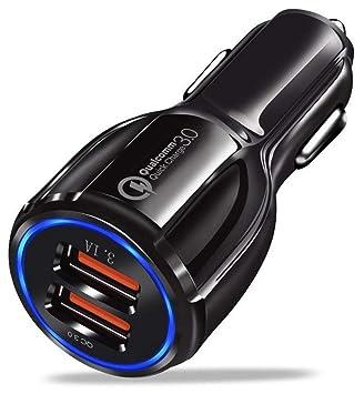 Cargador de Coche + 2 Cargadores USB I Cargador rápido de ...