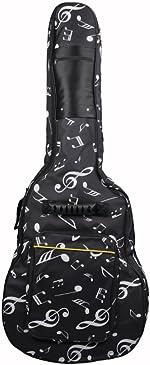 41 42 Inch Dual Adjustable Shoulder Strap Acoustic Guitar Gig Bag