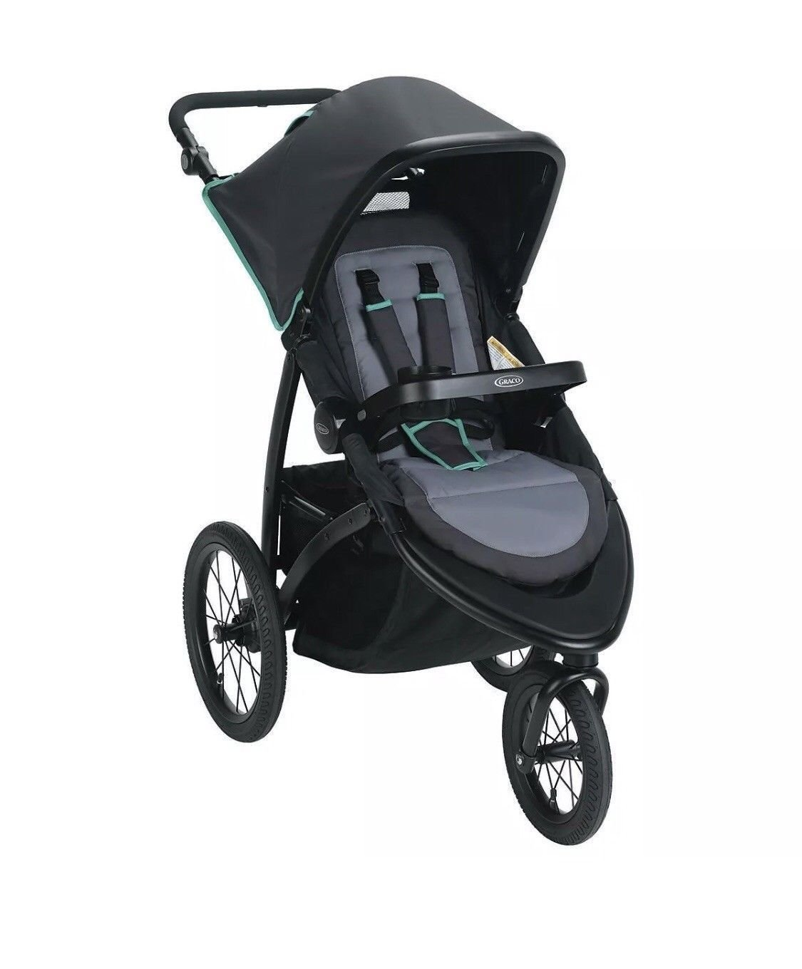 Graco Road Master Jogger Stroller, Lake Green Graco Baby