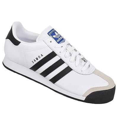 new concept f0229 e12d5 Adidas Originals Samoa Shoes White Black  Amazon.co.uk  Shoes   Bags