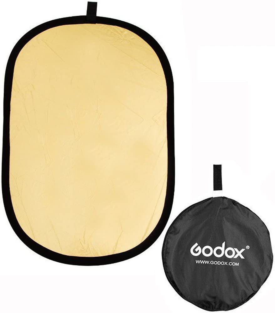 Yunchenghe 2 in 1 Gold//Silver 100x150cm//40 x60 Collapsible Reflector Diffuser Board for Photography Studio /& Outdoor Lighting Control