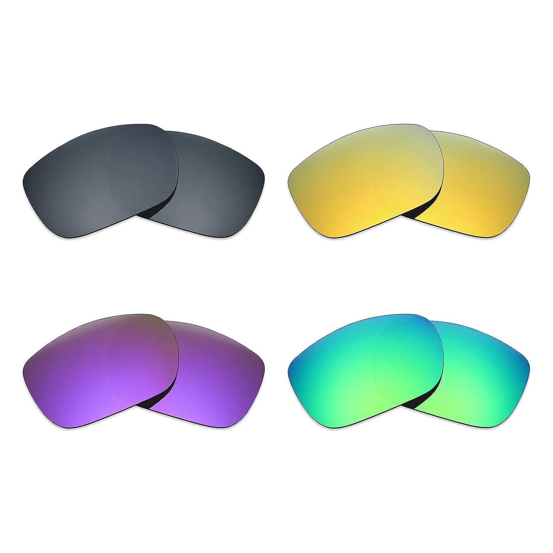 MRY 4 pares polarizadas lentes de repuesto para Oakley TwoFace ...