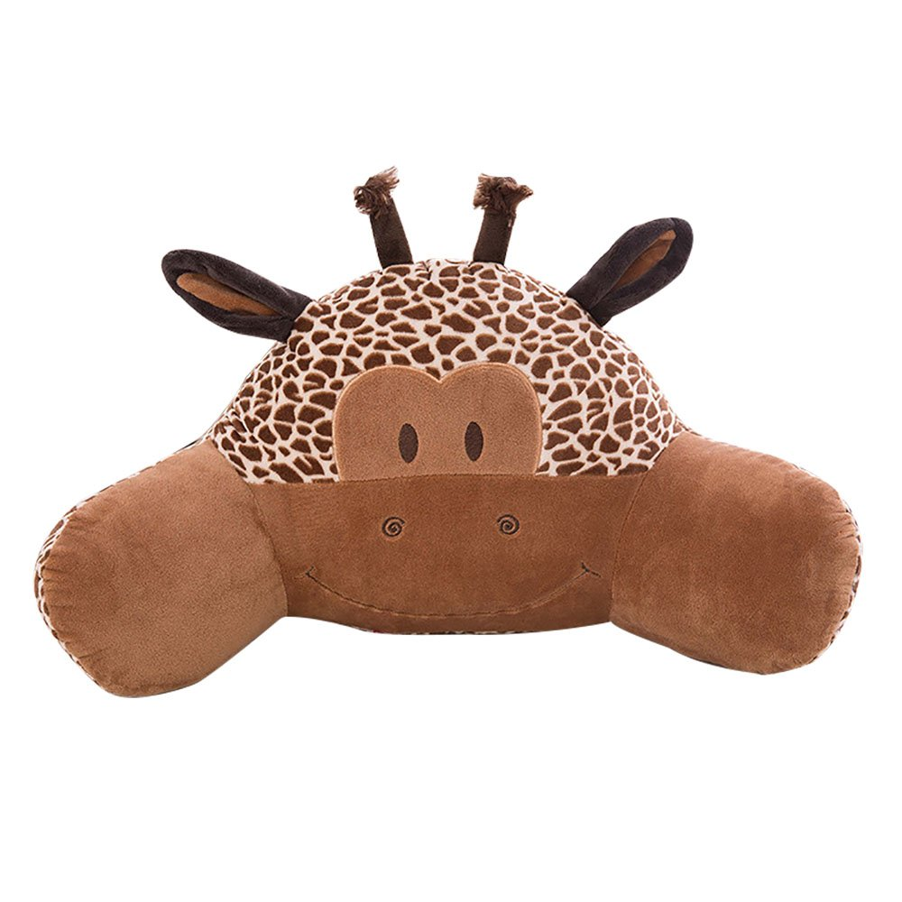 Kenmont Animal Thickening Lumbar Back Rest Cushion Reading Lumbar Support Pillow Reduce Tension In Your Spine (Giraffe)