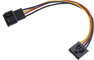 1x 5 Pin to 4 Pin Fan Adapter Converter Extension Cable Dedicated Fan Interface Conversion Line Compatible with Dell Computer PC