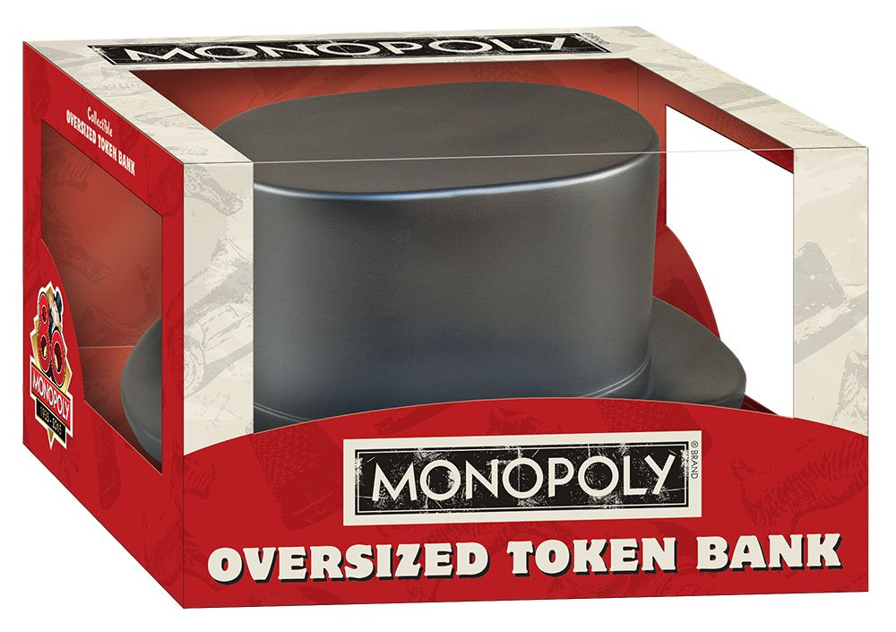 Monopoly Oversized Token Bank: Hat: Amazon.es: USAopoly: Libros en idiomas extranjeros