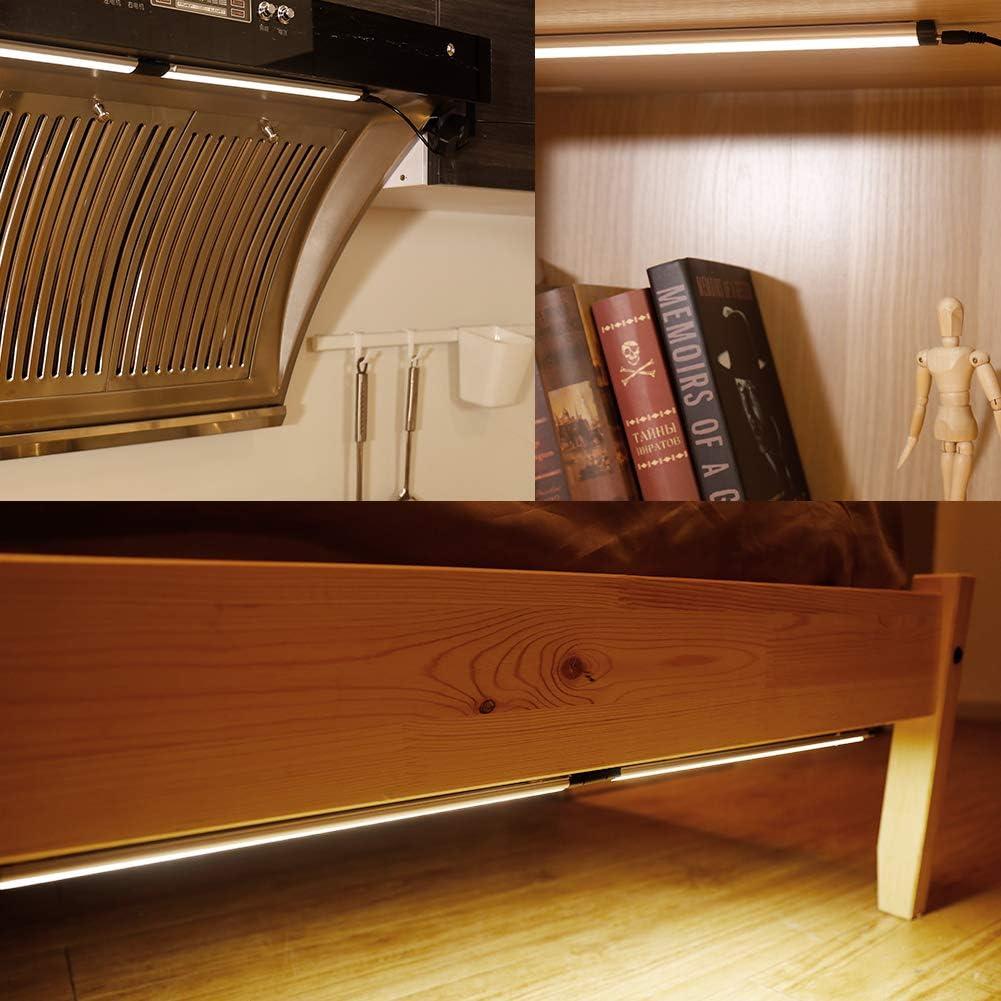 LED Kitchen Lights LED Bar Dimmable Light Bar Under Cabinet Lights TECKIN