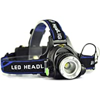 OZSTOCK® 5000LM LED Rechargeable Headlamp Zoomable Headlight CREE XML T6 Head Torch
