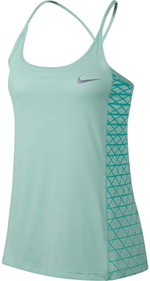 536362ecaf5d2 Amazon.com  Nike Women s Dry Miler Graphic Running Tank Top (Igloo ...
