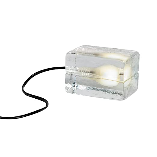 Design House Stockholm bloque Lamp flexo, cable de tela negro ...