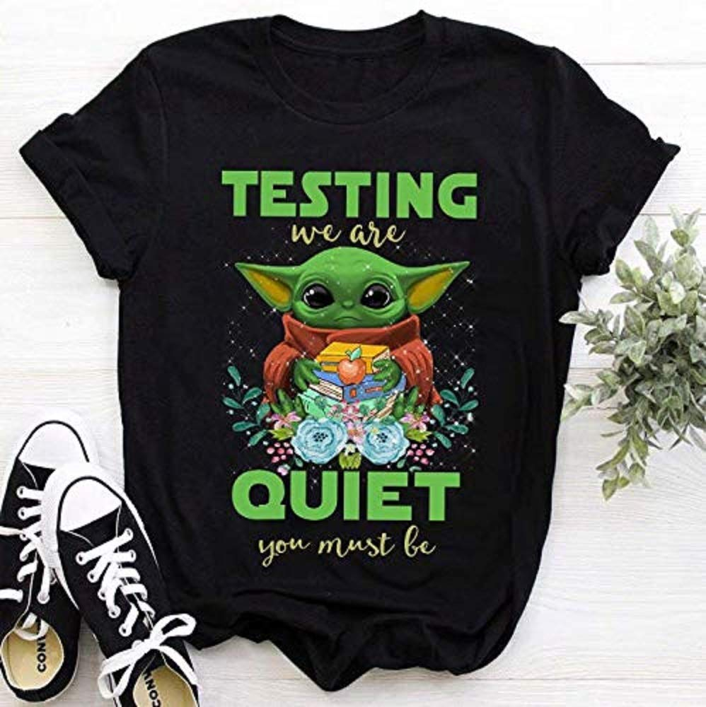 gifts for holidays Hoodies Baby funny Testing we are quiet you must be t-shirt gift for parents gifts for family and friends
