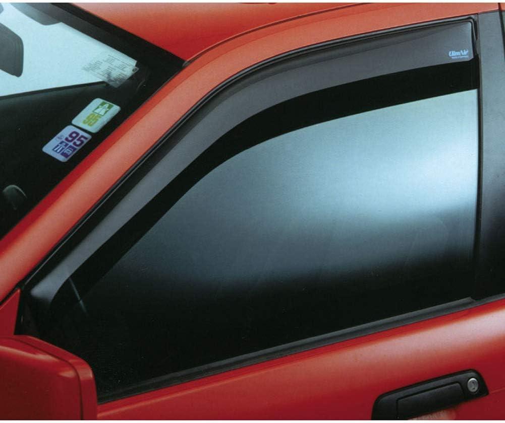 VW Caddy IV Life 2K SW 4 Türer Glasklar Climair Windabweiser  vorn mit ABE