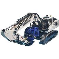 GAOXUQIANG 1/14 RC Control Remoto Metal Excavadora hidráulica