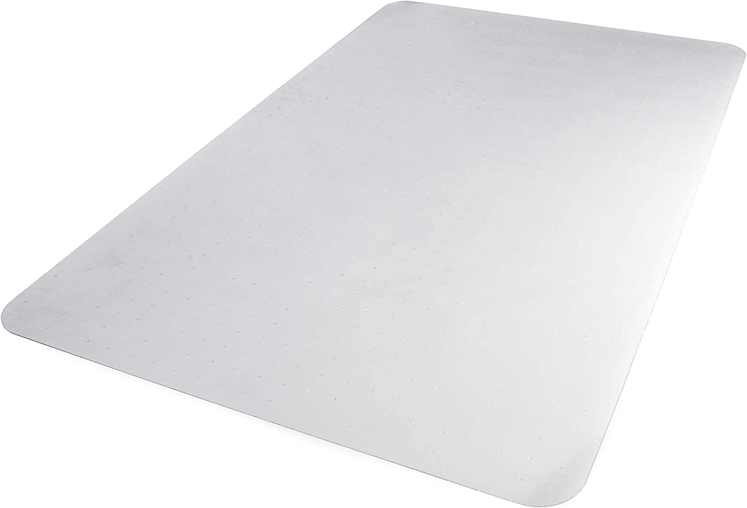 "AmazonBasics Polycarbonate Office Carpet Chair Mat, for Low and Medium Pile Carpets, 47"" x 51"""