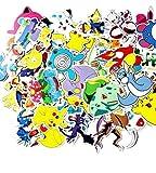 CJB 43 Pikachu Pokemon Skateboard Vinyl Stickers (US Seller) by CJB PKM