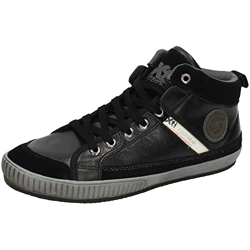 XTI 28117 Botin DE Piel Negra Hombre Botas-Botines: Amazon.es: Zapatos y complementos